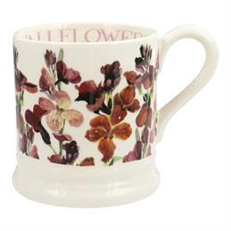 Emma Bridgewater Red Wallflower 1/2 Pint Mug