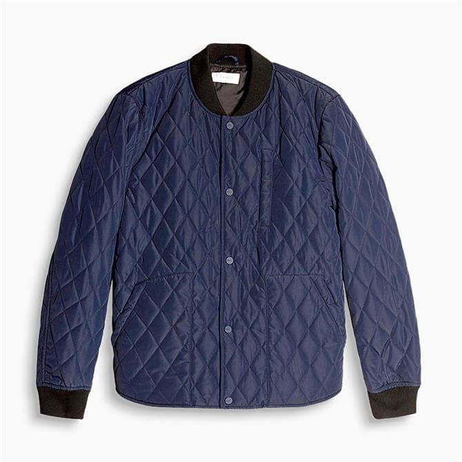 Esprit Diamond Quilted Bomber Jacket
