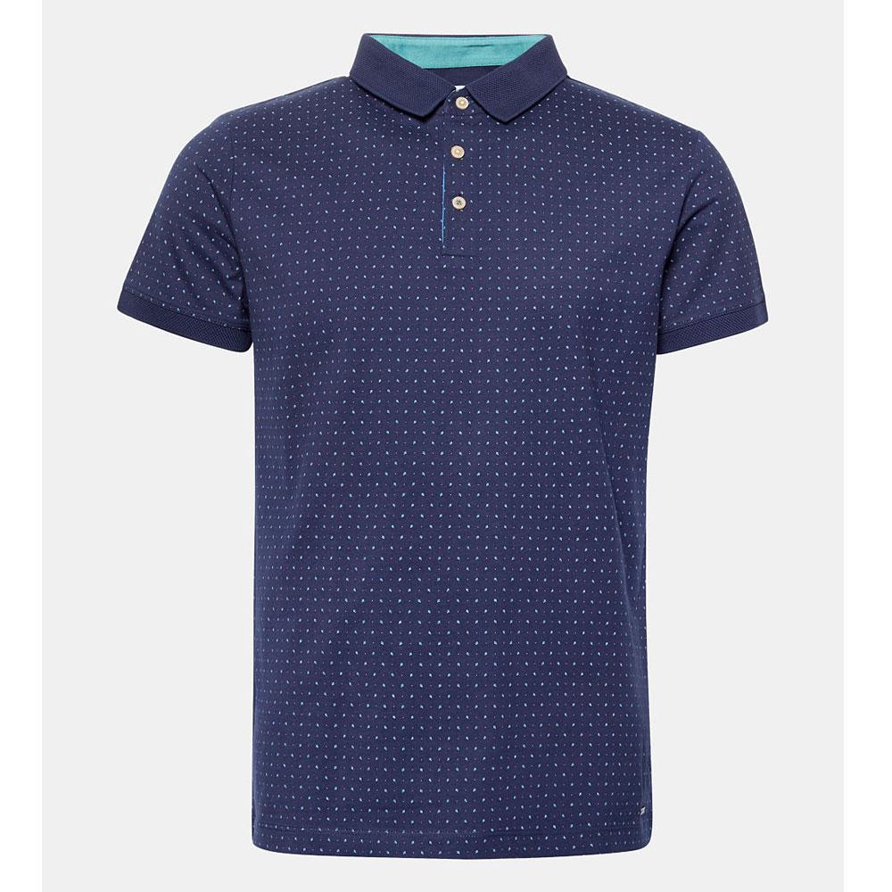 956cc48bee8 Esprit Men's Print Jersey Polo Shirt   Polos & T-Shirts   Polos & T ...