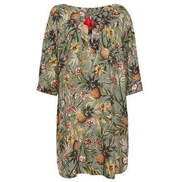 b458a97f6571 ... Esprit Bahia Tropical Print Tunic Beach Dress