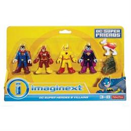 Mattel Imaginext DC Super Friends Heroes and Villains Assorted