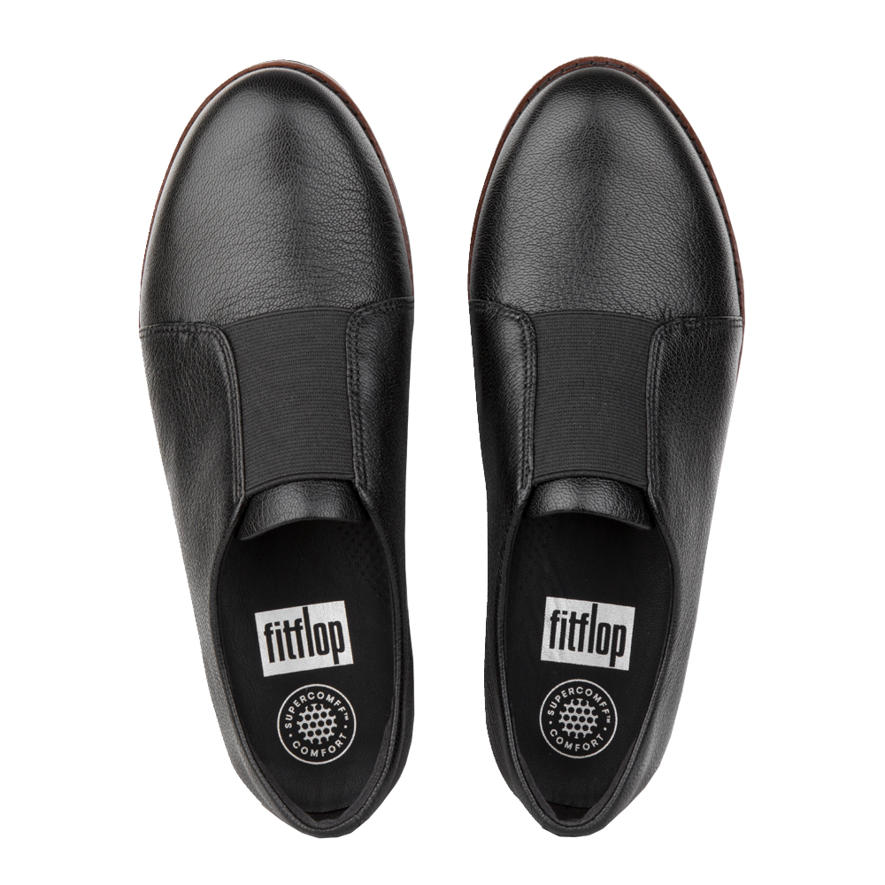 6a5b27034e94 FitFlop™ Laceless™ Derby Leather Shoes