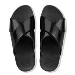 FitFlop™ Lulu™ Cross Slide Sandals - Mirror