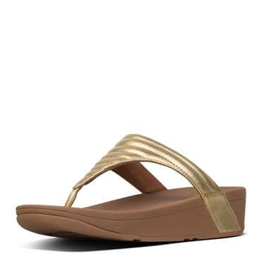 8ac48ad02 FitFlop™ Lottie™ Padded Metallic Toe-Thongs