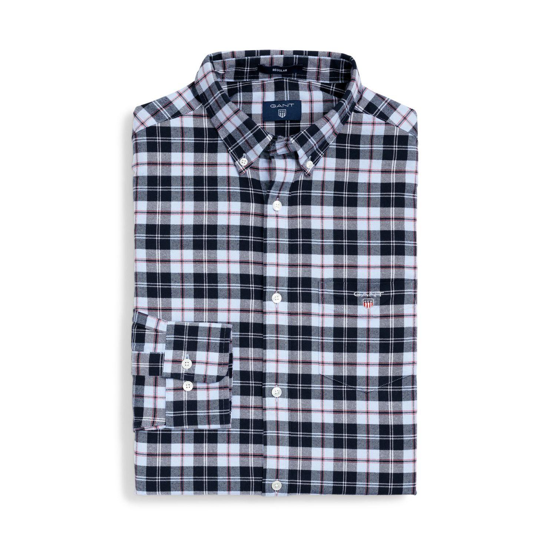 53ac285902 Gant mens regular brushed oxford plaid shirt shirts jpg 1500x1500 Gant  brushed flannel shirts