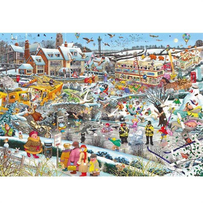 Gibsons I Love Winter 1000 Piece Puzzle