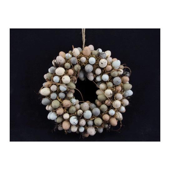 Gisela Graham Moss Twig Mini Egg Wreath Jarrold Norwich