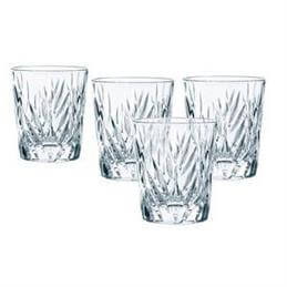Nachtmann Imperial Crystal Whisky Tumblers: Set of 4