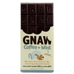 Gnaw Coffee And Mint Dark Chocolate Bar 100g