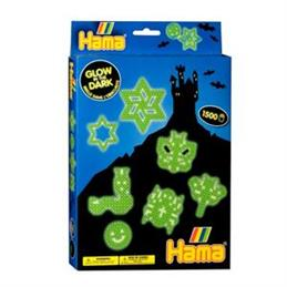Hama Glow in the Dark Set
