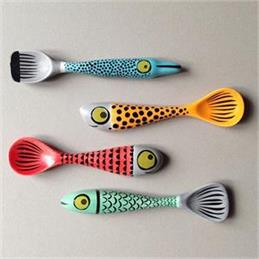 Hannah Turner Box of Four Fish Spoons