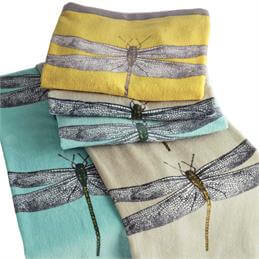Harlequin Demoiselle Dragonfly Towel