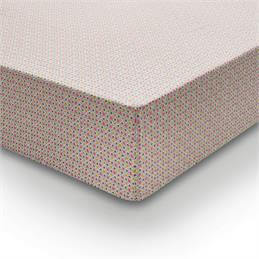 Helena Springfield Dot/Penny Cerise Fitted Sheet