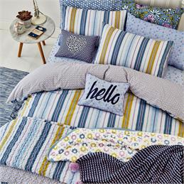 Helena Springfield Melody Bluebell Duvet Cover Set
