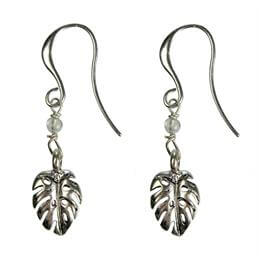 Hultquist Palm Leaf Hook Earring