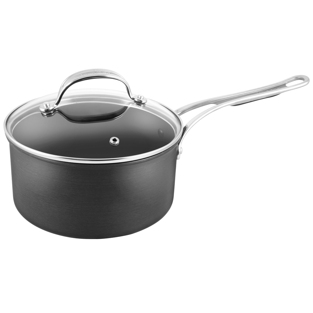 Jamie Oliver Professional Hard Anodised Induction Saucepan