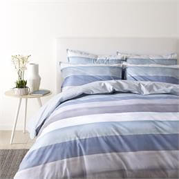 Jigsaw Water Stripe Quilt Cover