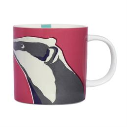 Joules China Mug Badger