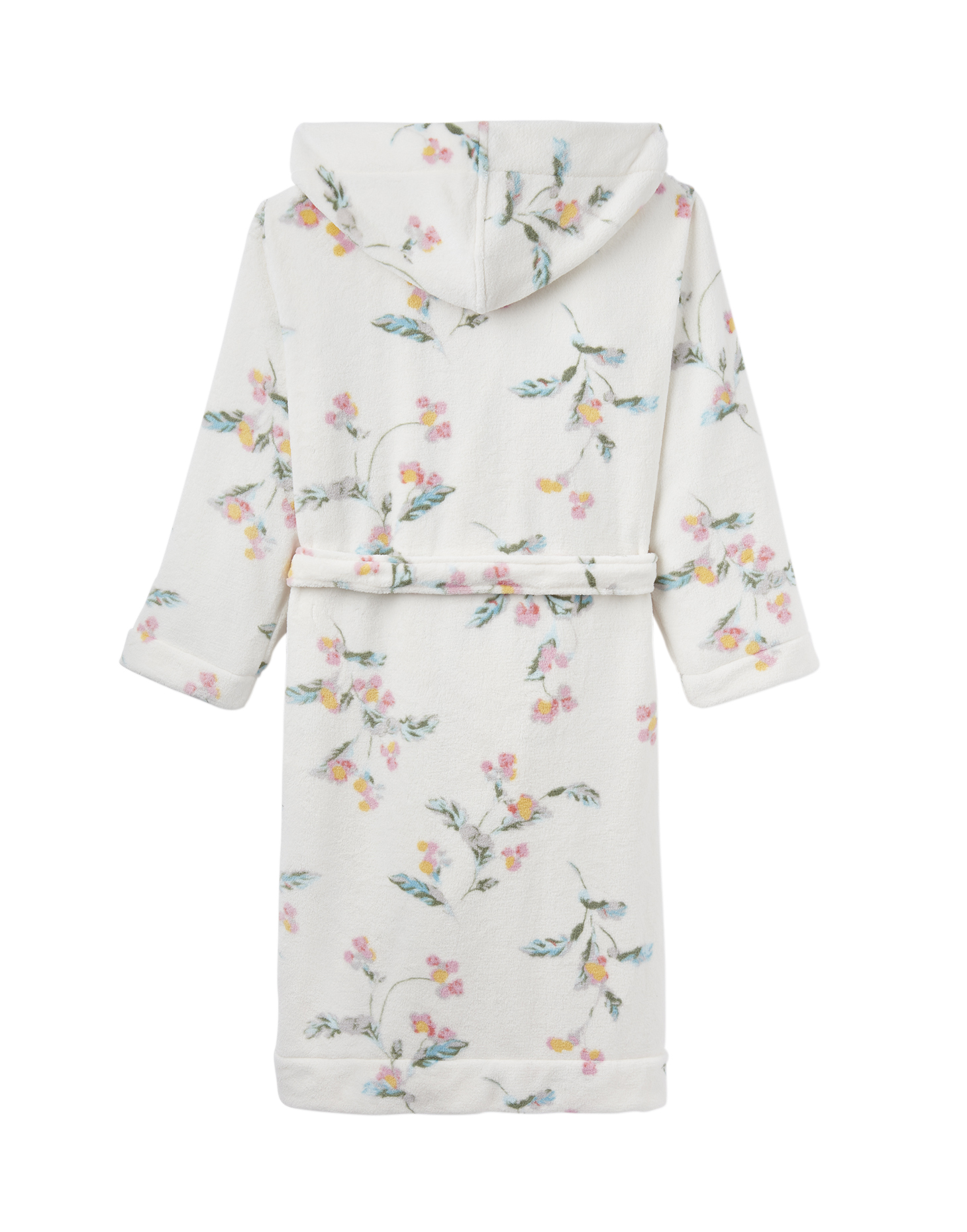 Joules Rita Fluffy Floral Dressing Gown  a602d1420
