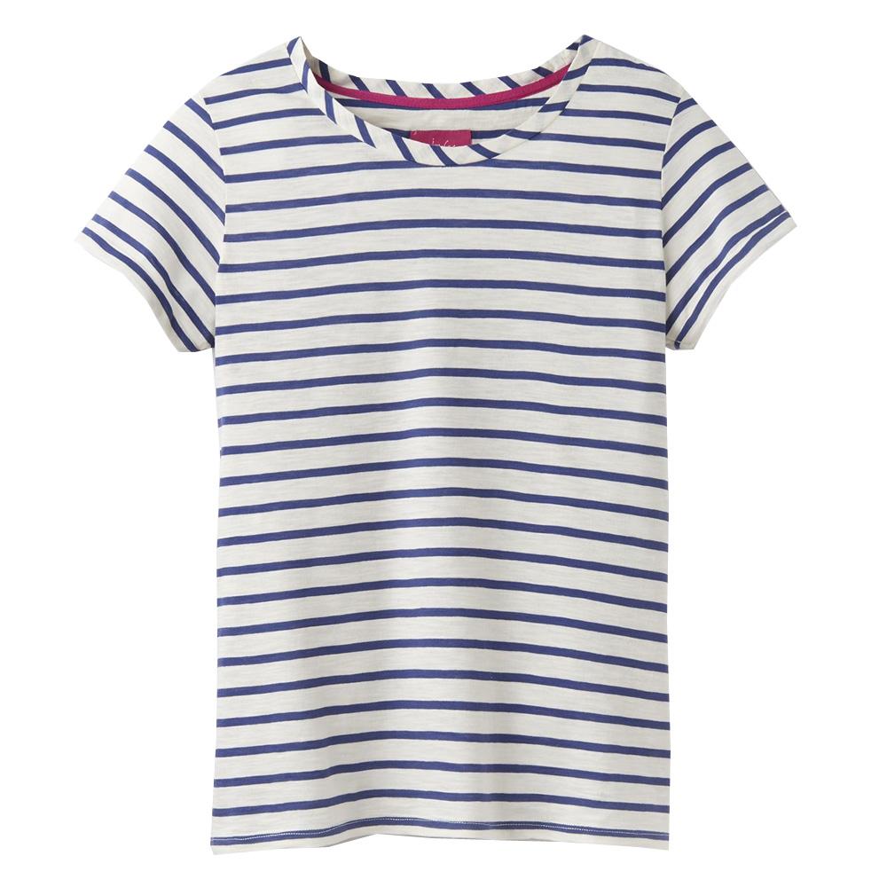 6ea147a54c74f5 Joules Nessa Stripe Lightweight Jersey T-Shirt | Tops | Tops | Jarrolds  Norwich, Norfolk