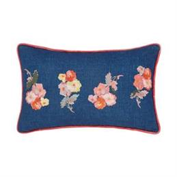 Joules Hollyhock Meadow Cushion