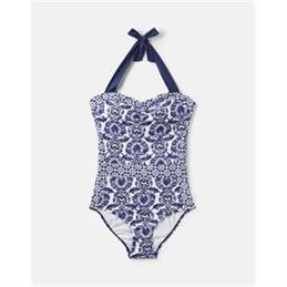Joules Prudith Halterneck Swimsuit