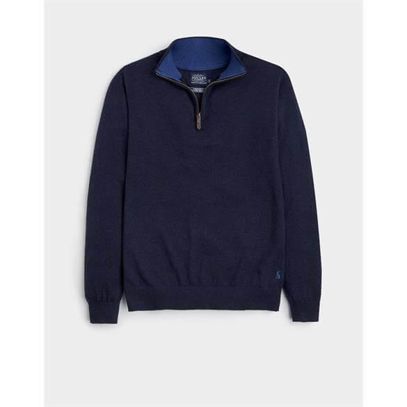 Joules Hillside Half Zip Funnel Neck Sweater