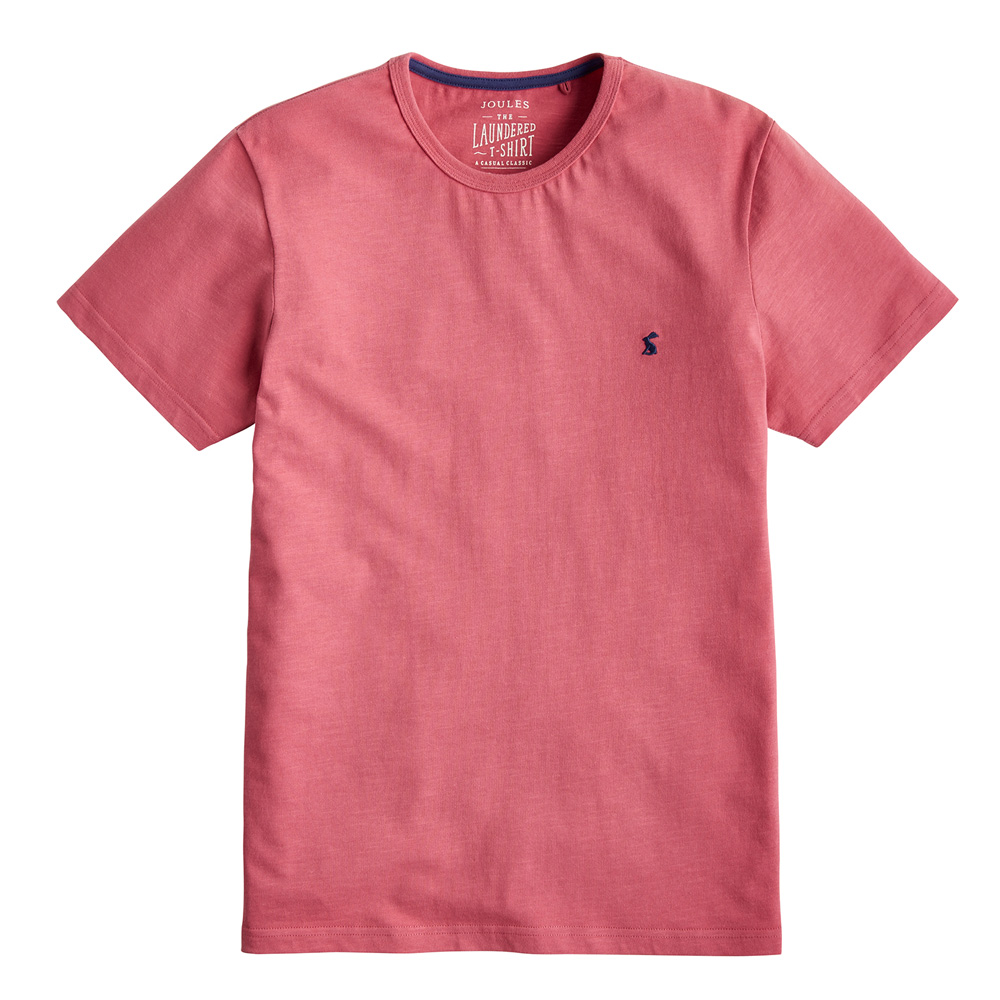Joules Laundered Jersey T Shirt Polos Shirts