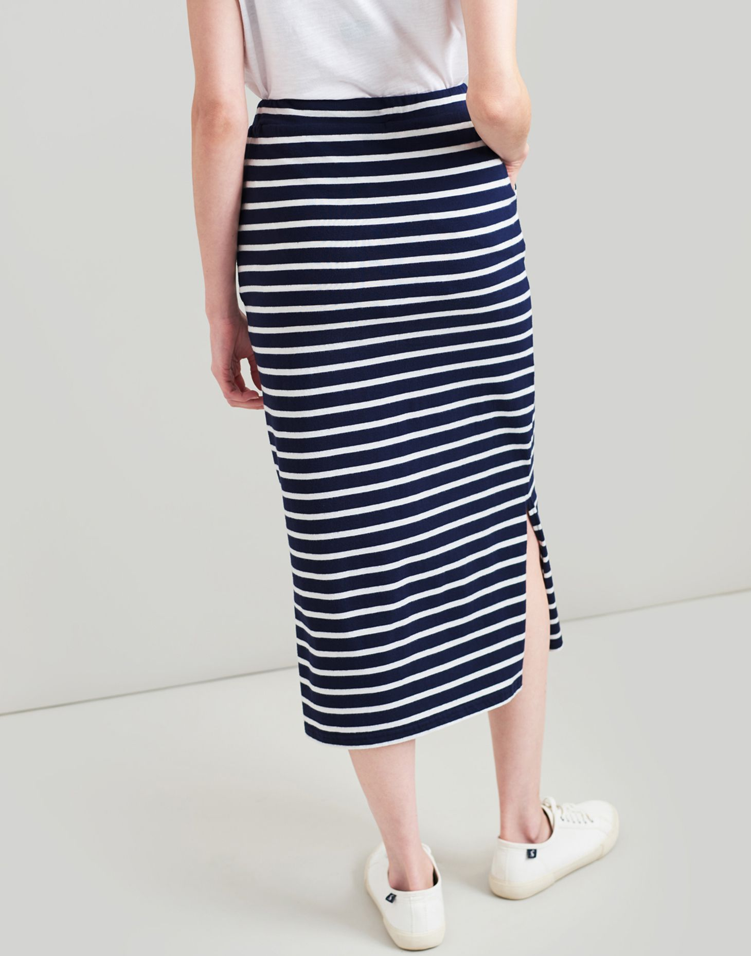 1cd64a0595 Joules Amara Jersey Striped Midi Skirt | Skirts | Skirts | Jarrolds  Norwich, Norfolk
