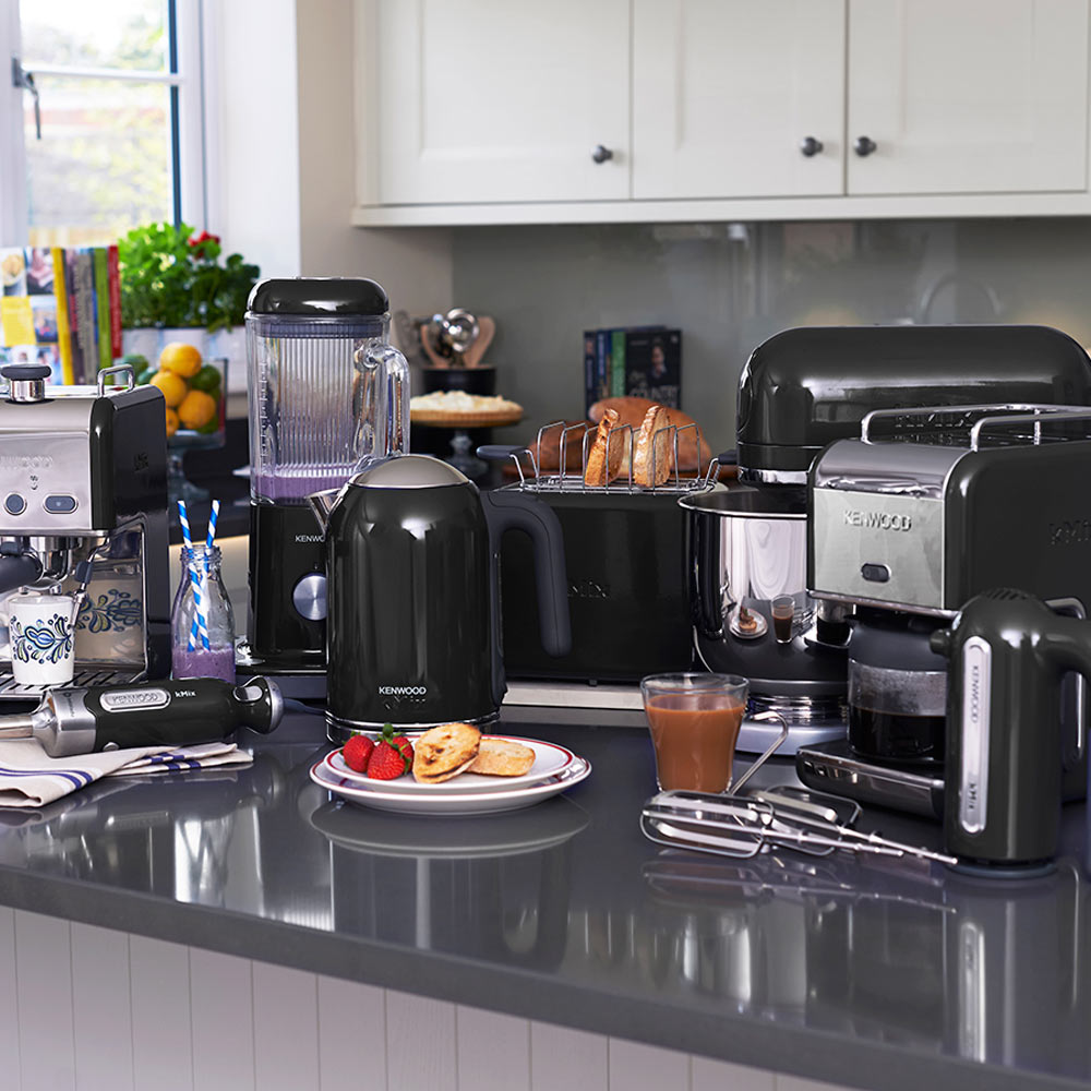 Kenwood kmix black kettle jarrold norwich for Kitchen 17 delivery