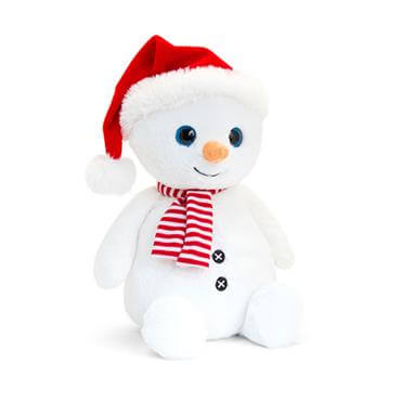 Keel 35cm Snowman with Hat   Scarf babf548df1