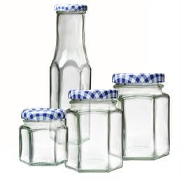 Kilner Hexagonal Twist Top Jars