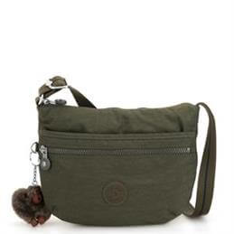 Kipling Arto Jaded Green Small Cross Body Bag