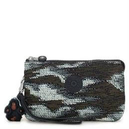 Kipling Creativity Dynamic Dots Extra Large Purse with Wristlet