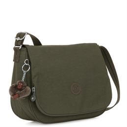 Kipling Earthbeat M Jaded Green Medium Across Body Shoulder Bag