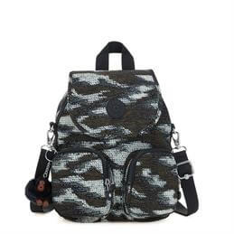 Kipling Firefly Up Dynamic Dots Small Multiway Backpack