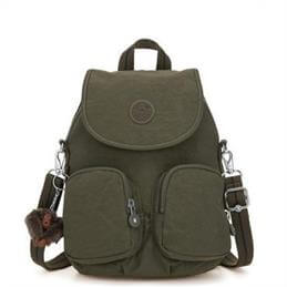 Kipling Firefly Up Jaded Green Small Multiway Backpack