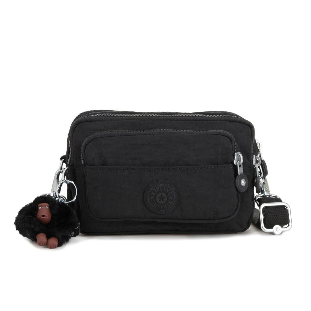 5ae115b488 Kipling Multiple Waist Bag Convertible to Shoulder Bag - True Black ...