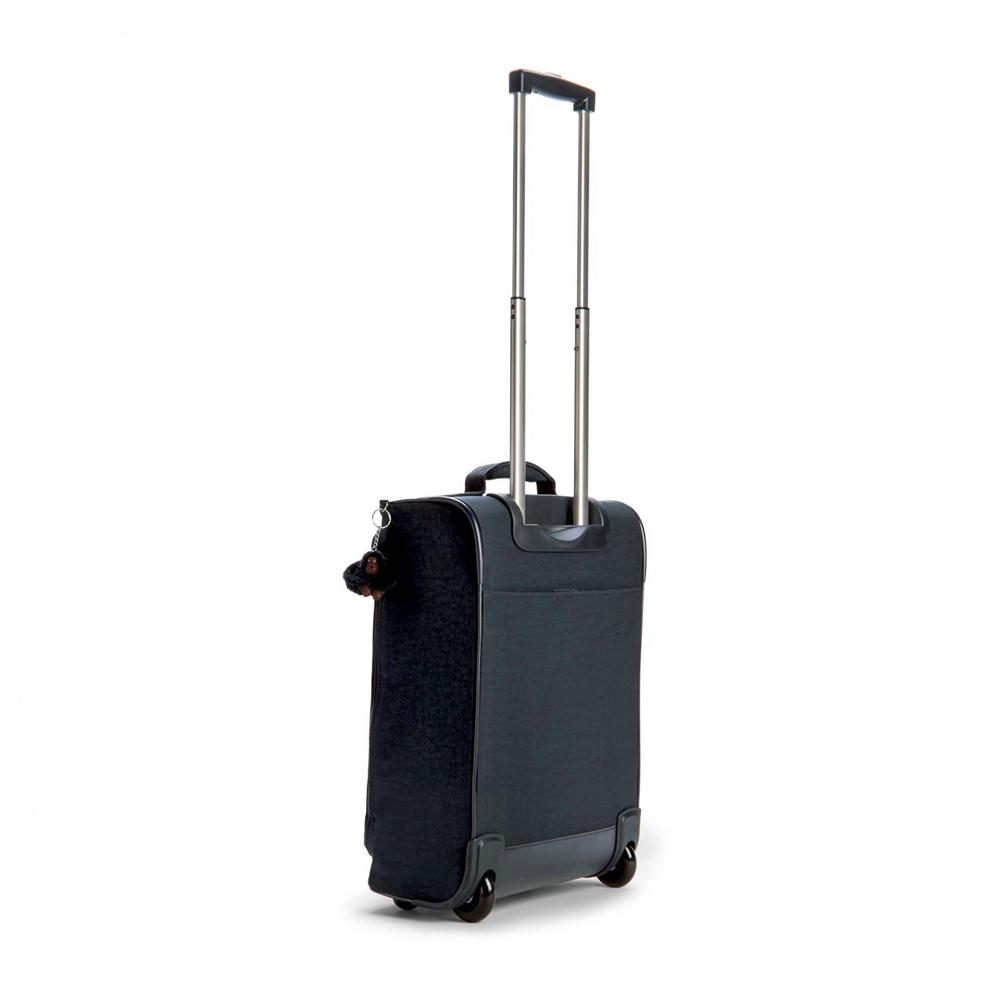 7fbe5c94e83 Kipling Teagan XS Cabin Wheeled Duffle Bag- Navy   Suitcases & Cabin ...