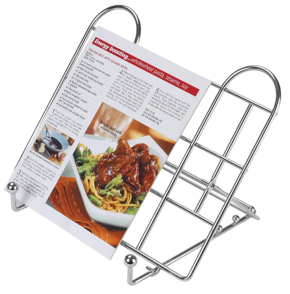 Kitchen Craft Adjustable Folding Recipe Book Holder | Kitchen ...