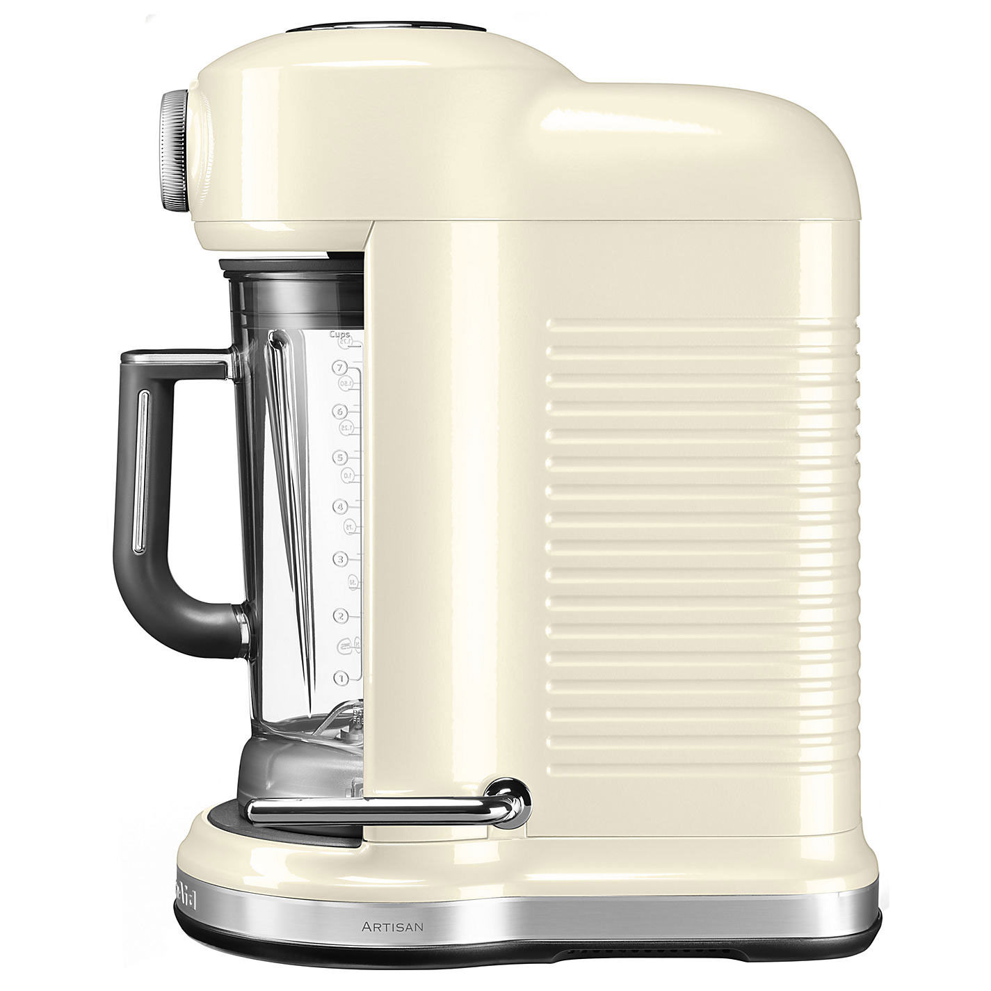 Kitchen aid artisan magnetic drive blender almond cream for Kitchen 17 delivery