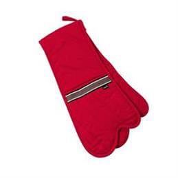 Ladelle Professional Series ll Double Oven Mitt: Red