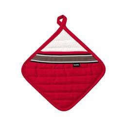 Ladelle Professional Series II Pot Holder: Red
