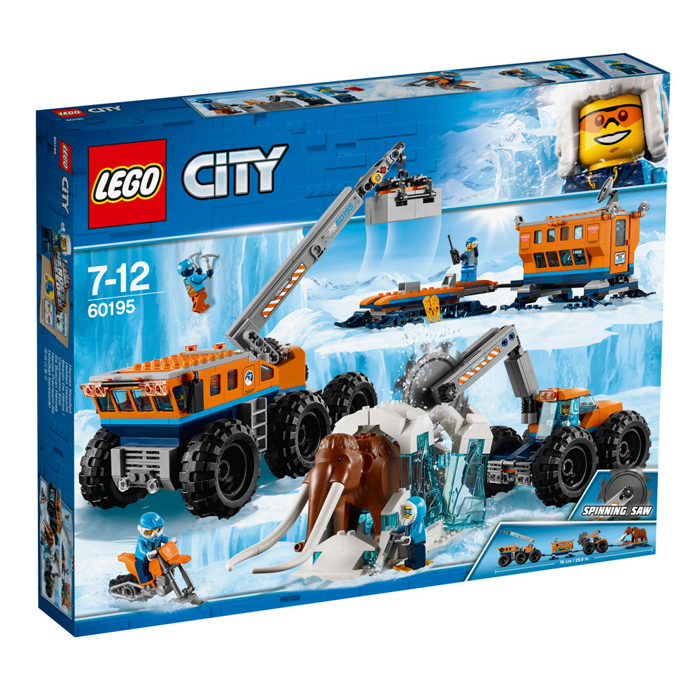 LEGO 60196 City Artic Expedition Toy Airplane, Air Transport