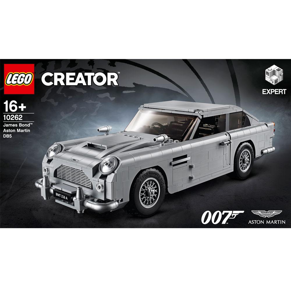 lego james bond aston martin db5 10262   lego   lego   jarrolds