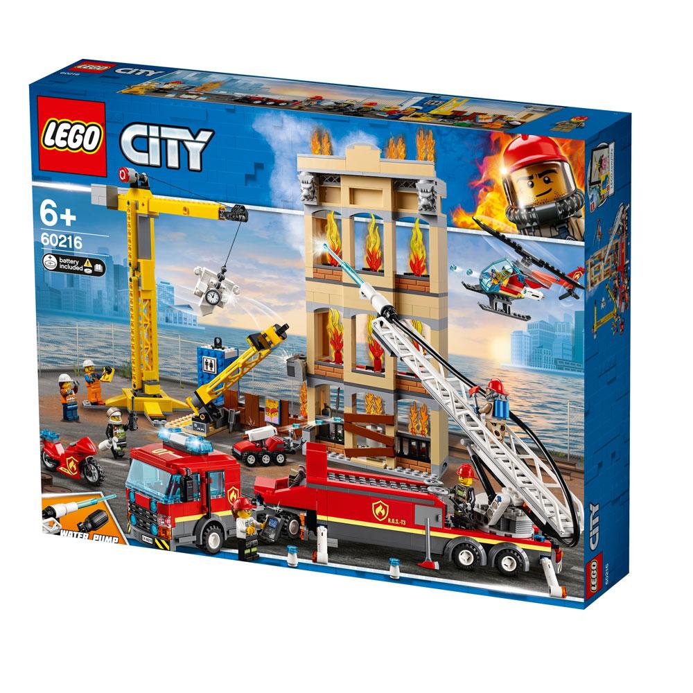 Lego City Downtown Fire Brigade 60216   Jarrold, Norwich