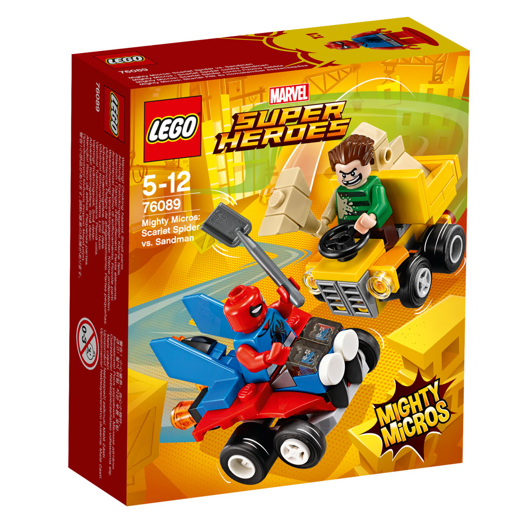 8fae4b9338 Lego Mighty Micros Spiderman V Sandman