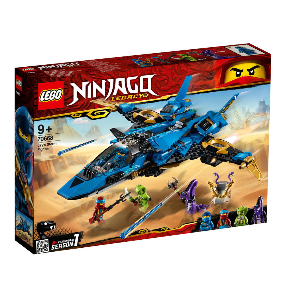 Lego Ninjago Jay's Storm Fighter 70668   Jarrold, Norwich