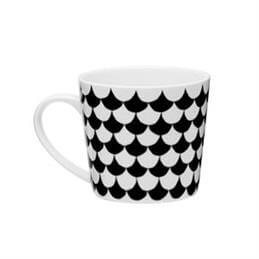 Littlephant White/Black Waves Mug