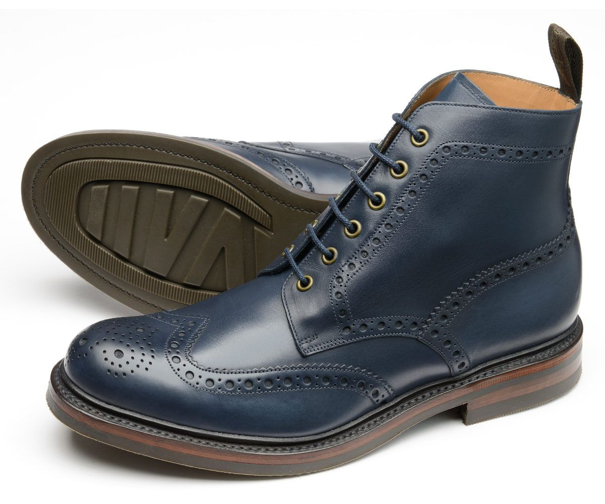 f1f7f28eac2cd Loake Men s Bedale Leather Lace-Up Brogue Derby Boot